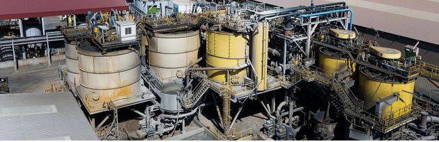 Το νέο τμήμα του εργοστασίου επίπλευσης του χαλκούχου μεταλλεύματος. Πηγή: Atalaya Mining Investor Presentation...