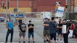 Les débardeurs du port de Montréal prévoient déclencher une autre