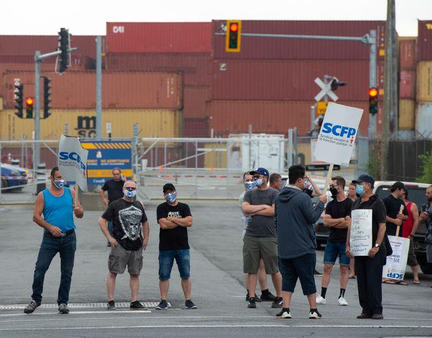 Port Montréal (Ryan Remiorz/La Presse