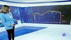TVE se disculpa y corrige este gráfico sobre la caída del PIB: