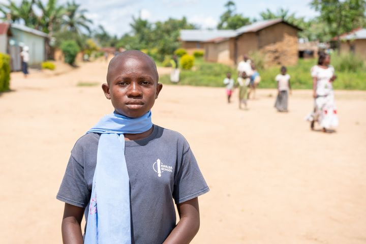 Masika, 12, is an orphan of war in eastern DRC.