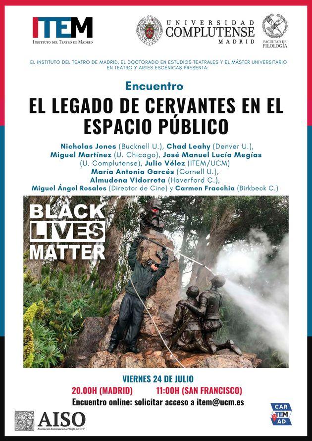 Cervantes, Black Lives Matter y cultura ¿de la