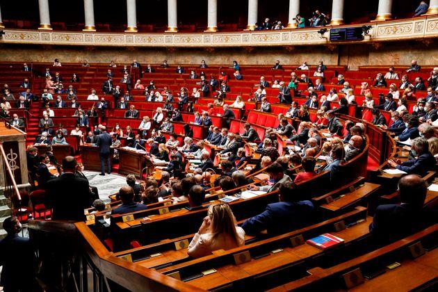L'Assemblée nationale, ici le 23 juin, a adopté en deuxième lecture le projet...