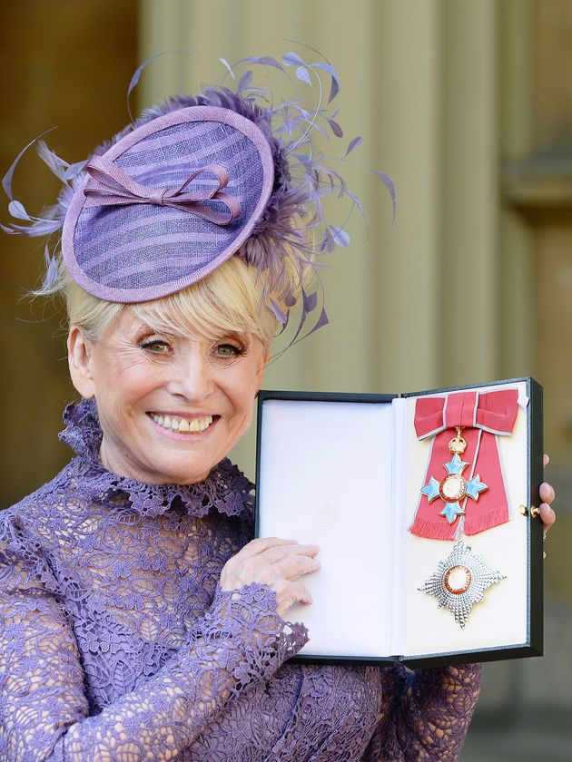 Barbara was made a Dame in 2016