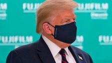 , 'The Daily Show' Reveals What Donald Trump Says Behind His Coronavirus Face Mask