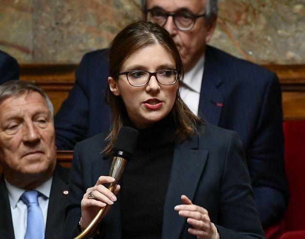 Aurore Bergé candidate à la présidence du groupe LREM à l'assemblée