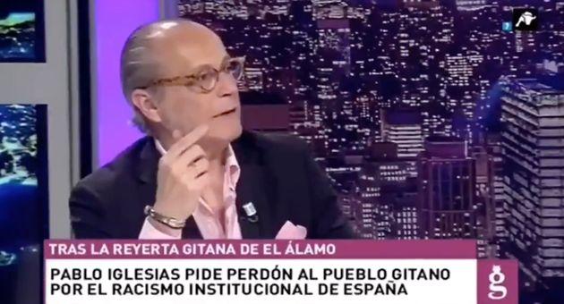 Eduardo García Serrano, tertuliano de 'El Gato Al