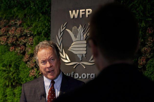Le directeur général du Programme alimentaire mondial des Nations Unies, David Beasley,...
