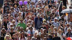 Thousands Protest In Berlin Against Coronavirus