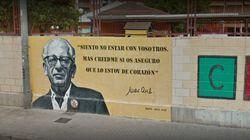 Pintan esvásticas en un mural en honor al escritor republicano Max Aub en