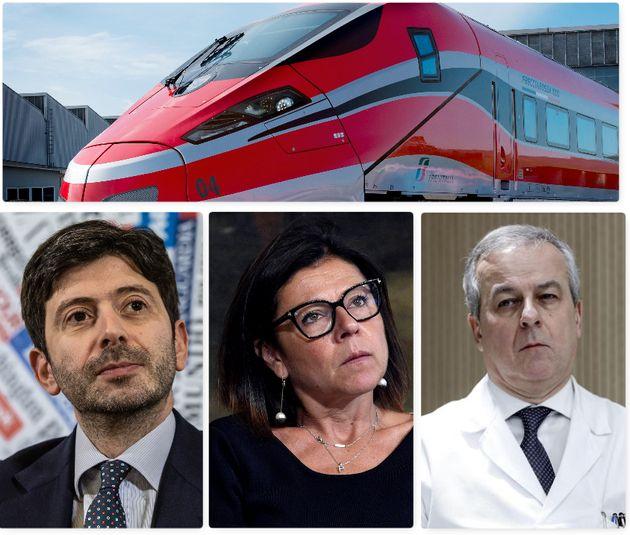 Roberto Speranza, Paola De Micheli, Franco