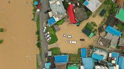중부지방 폭우 피해가 속출하고