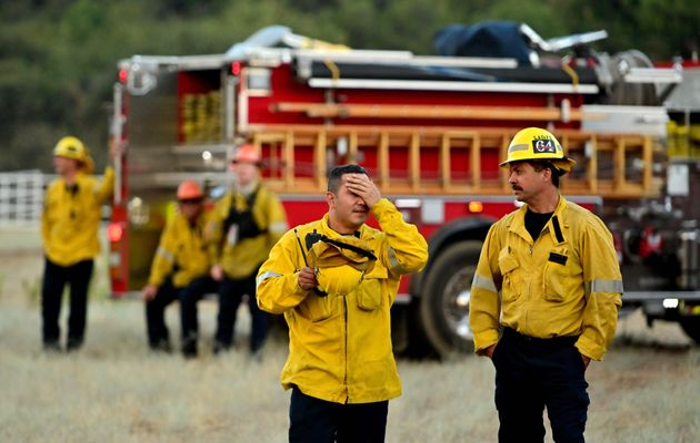 Πυροσβέστες στο Τσέρι...