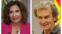 La ministra Montero defiende a Fernando Simón tras su última polémica con tres contundentes