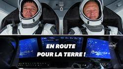 Space X a ramené deux astronautes américains sur Terre, une
