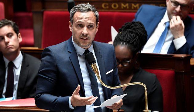 Adrien Taquet, ici à l'Assemblée nationale le 16 juin, annonce la création d'une...