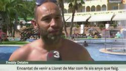 Críticas a TV3 por lo que hizo cuando este turista francés habló de