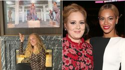 Adele Pays Tribute To Beyoncé As She Shares Photo Of Her Watching New Visual Album: 'Thank You