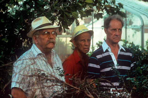 Wilford with Hume Cronyn and Don Ameche in Cocoon