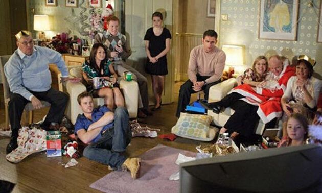 The EastEnders 2007 Christmas special was watched by over 14 million