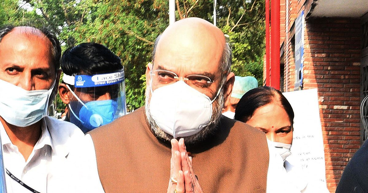 Amit Shah Tests Positive For Covid-19