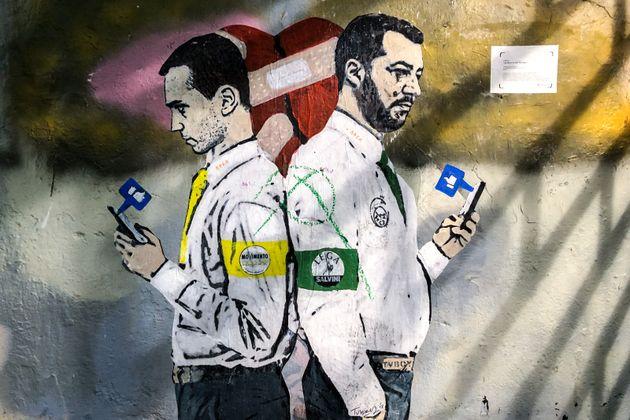 Salvini e Di Maio |  gli sconfitti del Papeete