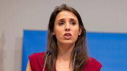 Irene Montero acusa a Ciudadanos de reunirse sólo con ministros del PSOE para abordar la