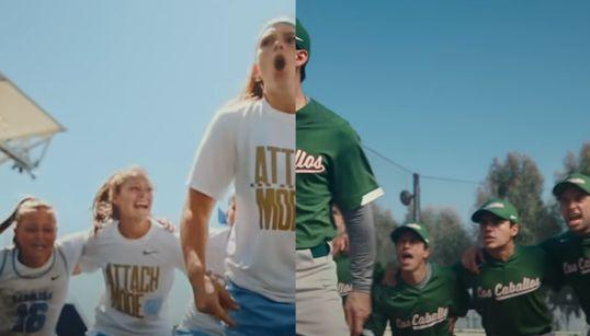 나이키가 만든 '코로나 시대의 스포츠' 광고