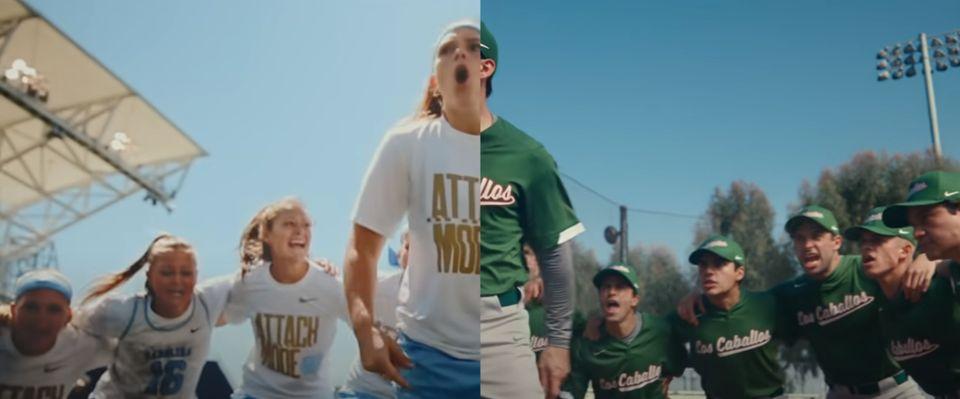 코로나 시대의 스포츠가 가야 할 길에 대해 말하는 나이키 광고 (영상)