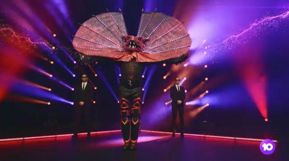 The Frillneck on 'The Masked Singer Australia'