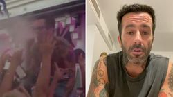 El DJ que escupió alcohol al público en Málaga se disculpa: