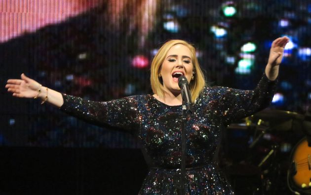 La cantante Adele en un concierto en Phoenix en