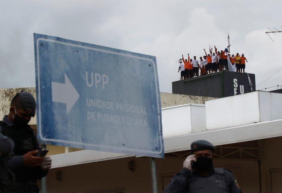 Μάιος 2020 Βραζιλία εξέγερση...