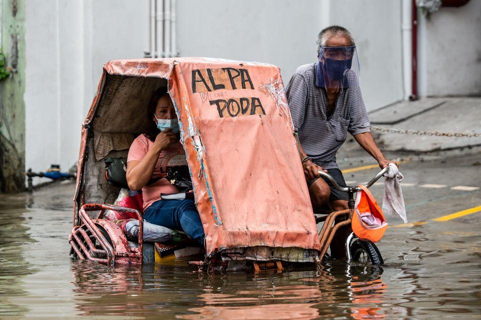 Κορονοϊός και πλημμύρες...
