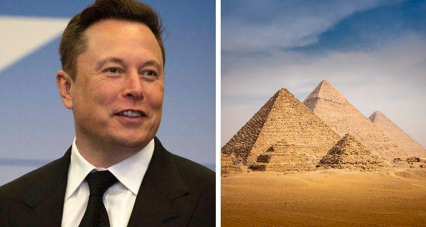 """Elon Musk: """"Gli alieni hanno costruito le piramidi"""". E l"""