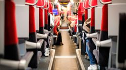 Viaggiare in treno è sicuro? Una ricerca svela la velocità di trasmissione del virus in una carrozza