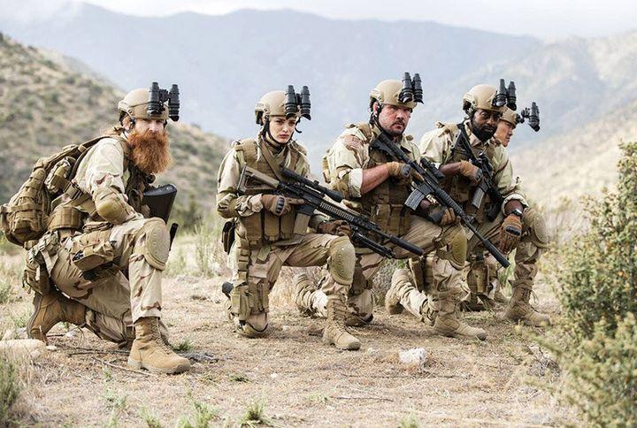 """Rogue Warfare: The Hunt"" on Netflix."