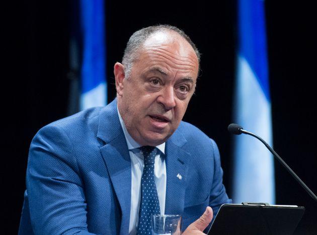 Le ministre de la Santé et des Services sociaux, Christian Dubé. (Photo