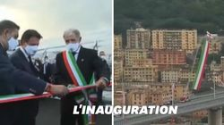 L'inauguration du nouveau pont de Gênes a eu lieu deux ans après l'effondrement du viaduc
