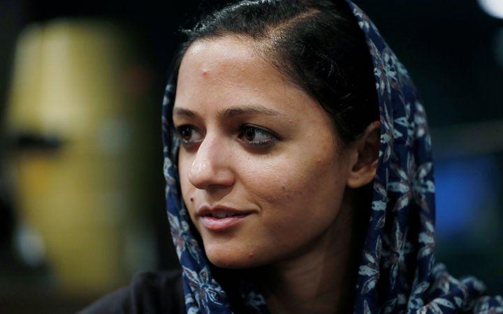Shehla Rashid in New Delhi on 6 August, 2019.
