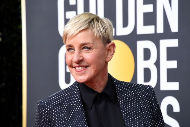 DeGeneres attends the 77th Annual Golden Globe Awards at The Beverly Hilton Hotel on Jan.