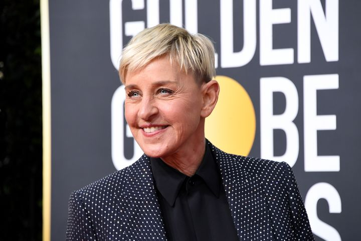 DeGeneres attends the 77th Annual Golden Globe Awards at The Beverly Hilton Hotel on Jan. 5.