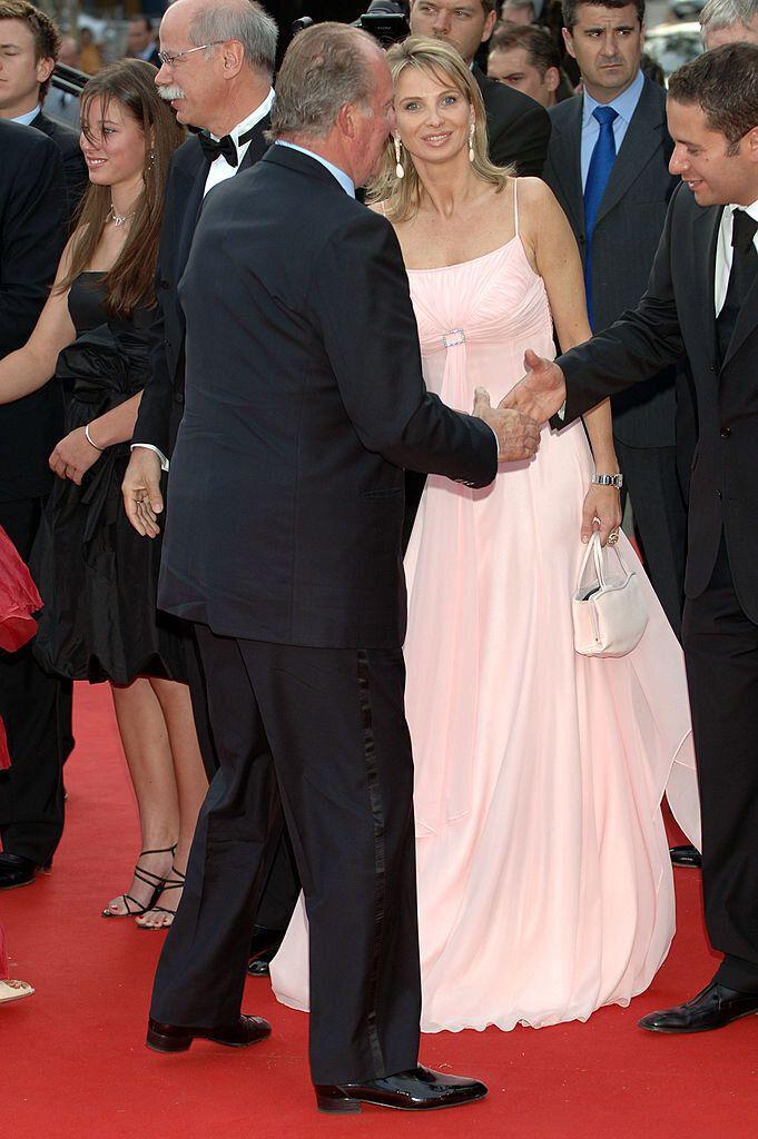 Corinna y el rey Juan Carlos, en un acto de 2006, cuando llevaban dos años de relación.