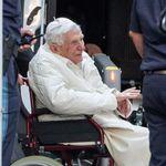 L'ancien pape Benoît XVI