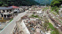 熊本豪雨から1ヶ月。復興はコロナで遅れ…