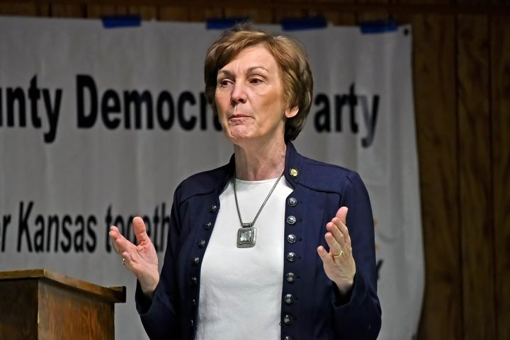 Kansas long has been a GOP-dominated state. But Republican-turned-Democrat Barbara Bollier has a solid shot of delivering her
