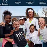 大坂なおみさん「女の子がどれだけパワフルになれるか知って」。女の子のスポーツ参加を支援するプログラムを発足