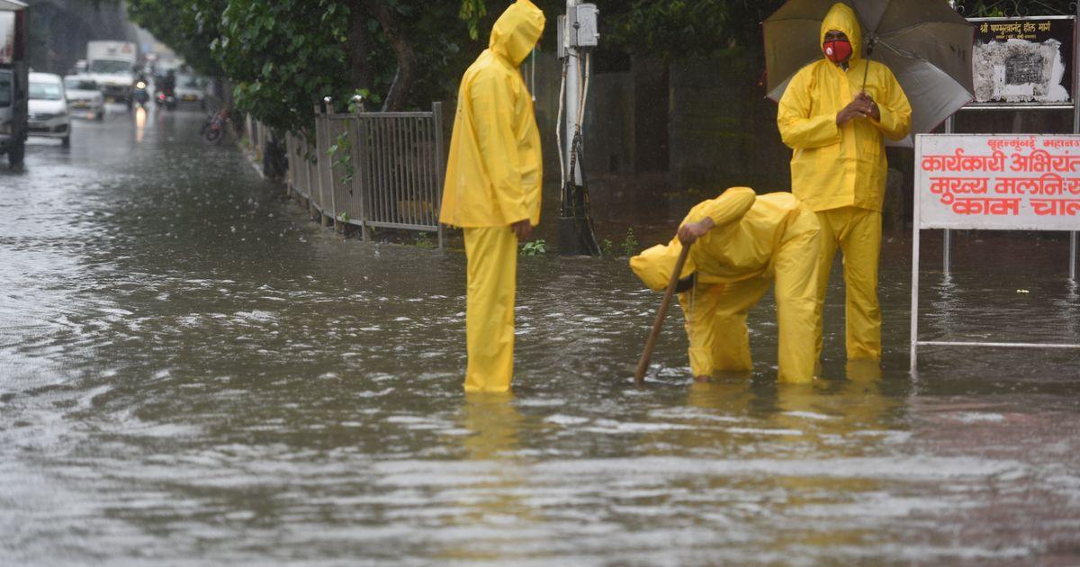 Mumbai Rains: Landslide In Kandivali, BMC Says High Tide Expected At 12.47 PM