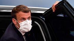 À Toulon, Macron au chevet des aides à domiciles, oubliés de la