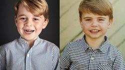 Louis o George? La somiglianza tra i due principini è